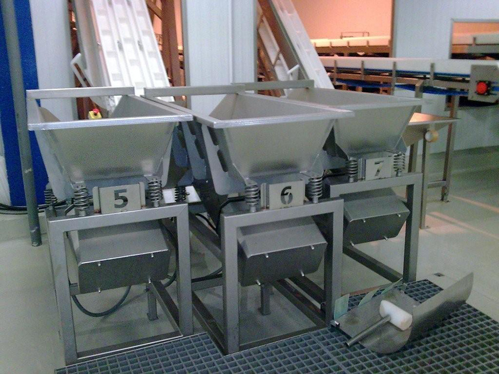 Alvibra Vibratory Feeder - closed - with ViFlex - Alvibra Viflex Feeder – Closed, Powered by Viflex